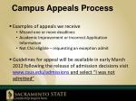 campus appeals process