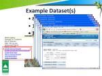 example dataset s