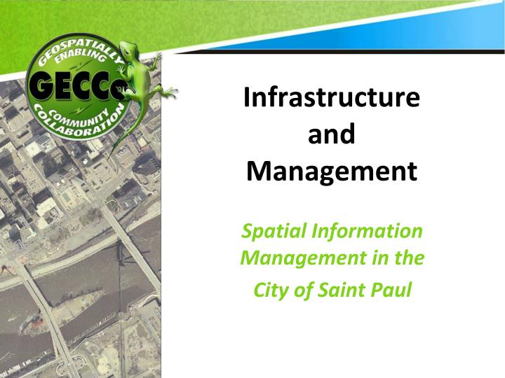 infrastructure and management n.