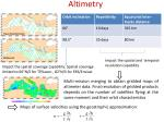 altimetry