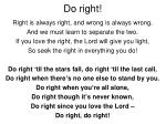 do right1