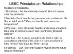 lbbc principles on relationships