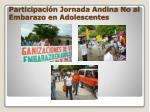 participaci n jornada andina no al embarazo en adolescentes