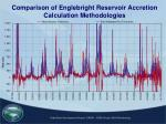 comparison of englebright reservoir accretion calculation methodologies