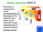 under pressure 300 a