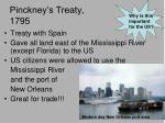 pinckney s treaty 1795