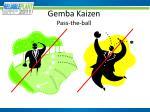 gemba kaizen pass the ball1