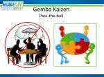 gemba kaizen pass the ball2