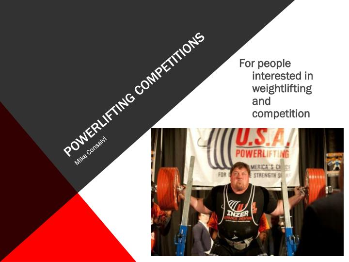 powerlifting competitions n.