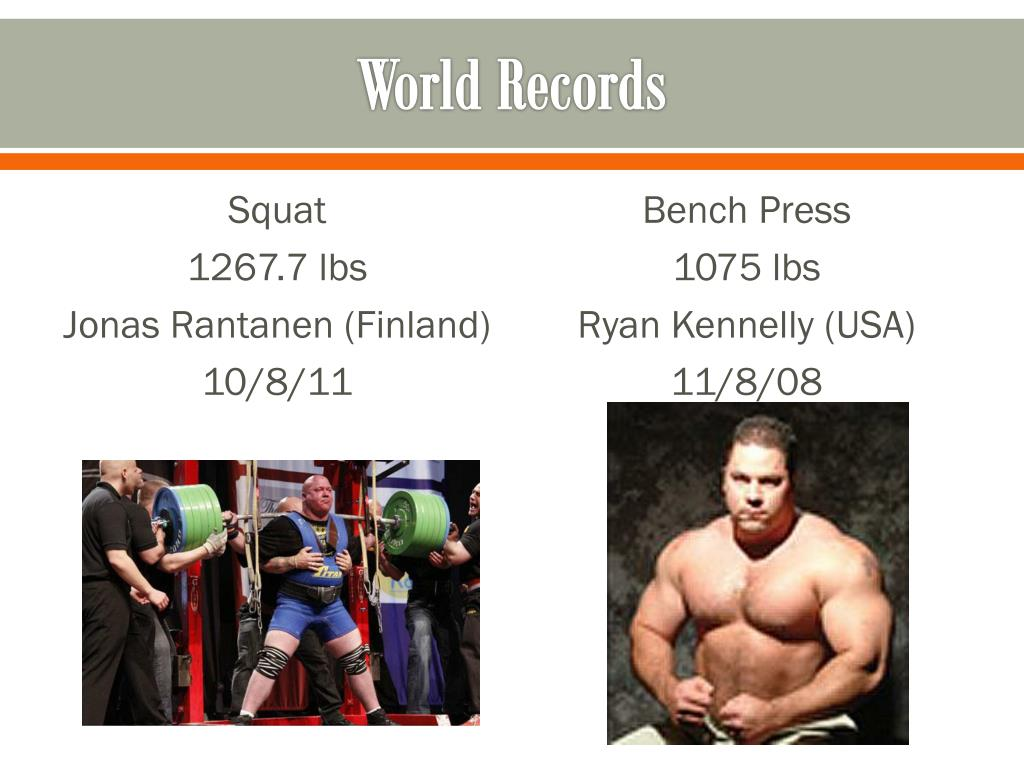 PPT - POWERLIFTING COMPETITIONS PowerPoint Presentation - ID