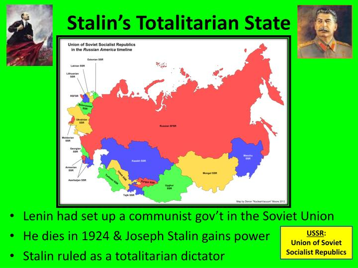 stalin s totalitarian state n.