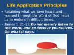 life application principles1