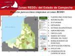 zonas redd del estado de campeche1