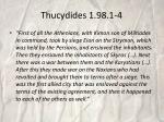 thucydides 1 98 1 4
