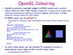 opengl colouring