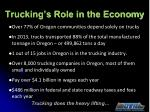 trucking s role in the economy