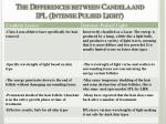 the differences between candela and ipl intense pulsed light