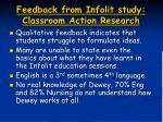 feedback from infolit study classroom action research1