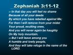 zephaniah 3 11 12
