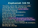 zephaniah 3 8 10