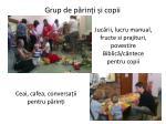 grup de p rin i i copii