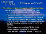 the holiness of god2