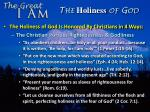the holiness of god3