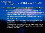 the holiness of god4