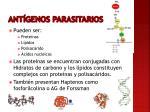 ant genos parasitarios
