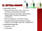 el sistema inmune