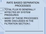 rate based separation processes1