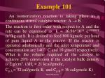 example 101