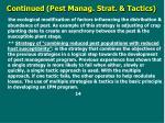 c ontinued pest manag strat tactics2