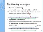 partitioning strategies2