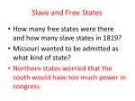 slave and free states