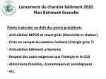 lancement du chantier b timent 2020 plan b timent grenelle