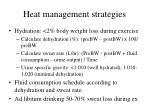 heat management strategies1