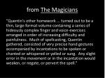 from the magicians1