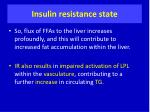 insulin resistance state1