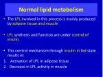 normal lipid metabolism2