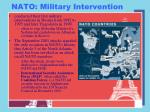 nato military intervention