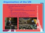 organization of the un