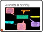 documents de r f rence