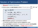 solution of optimization problem2