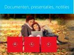 documenten presentaties notities