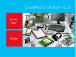 sharepoint online elo