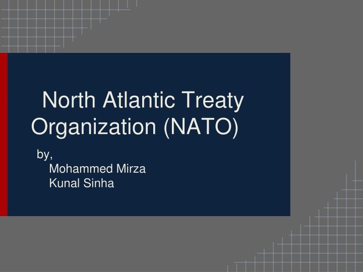 north atlantic treaty organization nato n.