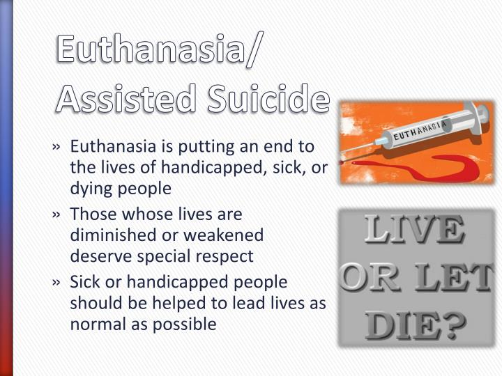 understanding euthanasia and assisted suicide Definitions of euthanasia by derek humphry 19 january 2006 with so much talk about 'euthanasia' these days after the terri schiavo affair (march 2005), and the affirming decision of the us supreme court (january 2006) in the oregon physician-assisted suicide case, it seems time -- in the interests of mutual understanding -- to define.