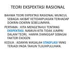 teori ekspektasi rasional1