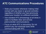 atc communications procedures1